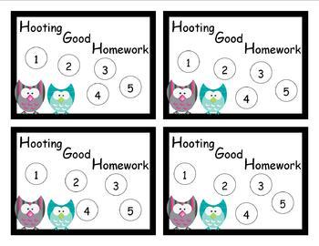 Homework Reward System - Another One!