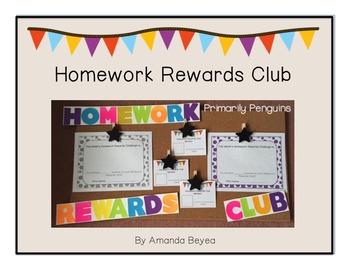 Homework Rewards Club