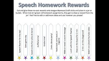 Homework Rewards