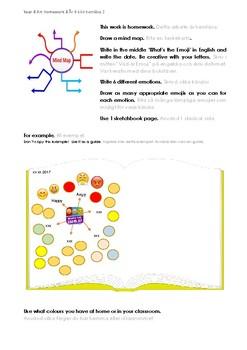 Homework Sheet - Emoji Mindmap