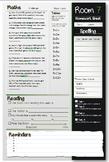 Homework Sheet Template 1 (Editable)