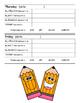 Homework Sheets - Date