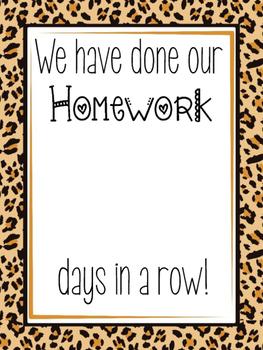 Homework Sign