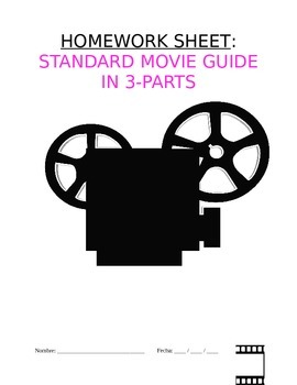Homework Sp3, Sp4, Sp5 - Guía de película: Standard Movie
