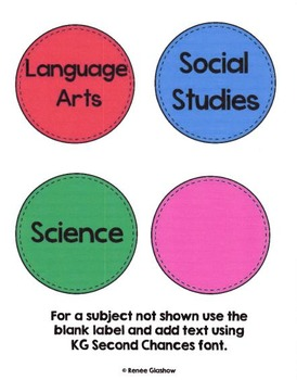 Homework Subject Labels:Circles