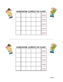Homework Superstar Chart