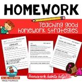 Homework   Teaching Good Homework Habits and Strategies