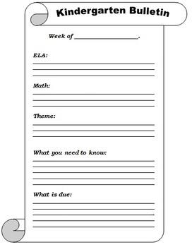 FREE Homework Template