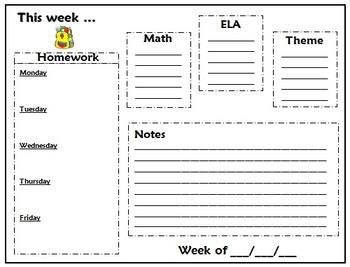 Homework Template
