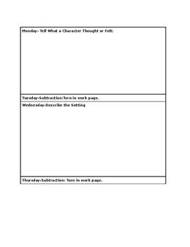 Homework Template-EDITABLE