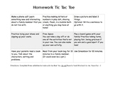 Homework TicTacToe