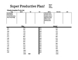 Homework Time Management Plan & Reflection