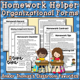 Homework Helper Organizational Forms