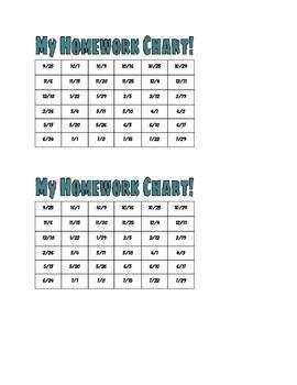 Homework Trackers