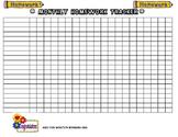Homework Tracking Sheet