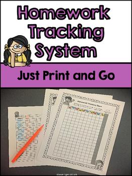 Homework Tracking System