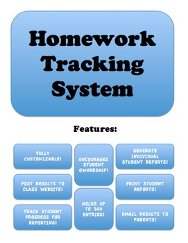 Automatic Homework Tracking System - Keep Parents Informed!