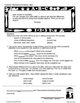 Homework: Vocabulary Development
