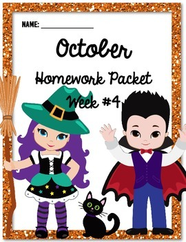 Homework Packet 4
