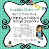 Reading Wonders Kindergarten Activities Unit 7 Week 2