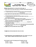 Homework Worksheets:  Trends Within the Periodic Table - Includes Answer Keys!