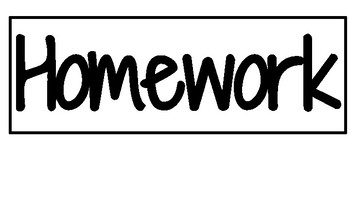Homework and Classroom Labels