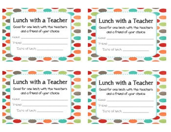 Homework and Lunch Passes