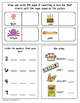 Homework and Morning Work Printable Activity Pack