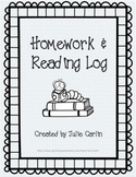 Homework and Reading Log