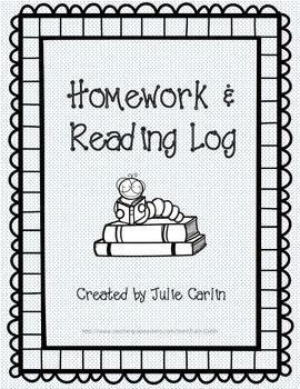 Homework and Reading Log