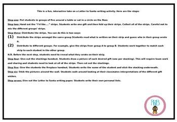 Interactive letter to santa fun writing activity by rhib tpt interactive letter to santa fun writing activity spiritdancerdesigns Choice Image