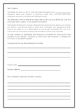 Editable Homework Contract - Why is homework important?