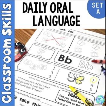 Homework Set A: Parent Involvement, Language Development, Letters, Numbers