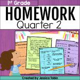First Grade Homework- 2nd Quarter