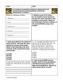 Homework for New Math Teks 5th grade