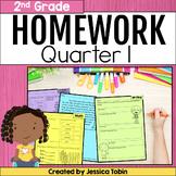 2nd Grade Homework- 1st Quarter