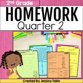 2nd Grade Homework- 2nd Quarter