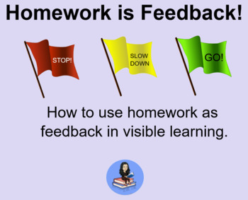 Homework is Feedback! SMART Lesson