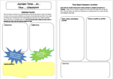 Homework template and example for a term (editable)