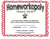 Homeworkopoly Chance Cards