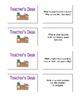 Homeworkopoly Game Board - Math theme