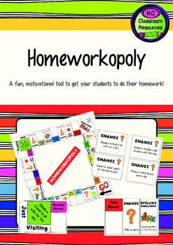 Homeworkopoly - Homework Motivation