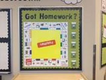 Homeworkopoly- Sweet Shoppe Theme
