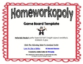 Homeworkopoly Template