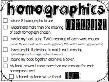 Homograph Activities