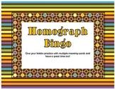 Homograph BINGO