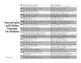 Homograph Crossword and List