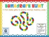 Homograph Game