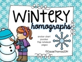 Homograph Interactive Activities {Winter Edition}
