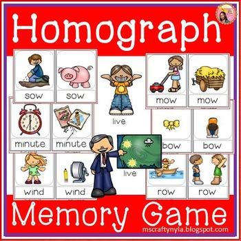 Homographs - Memory Game